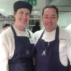 With one of my culinary inspirations and mentors, Neven MaGuire