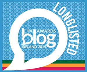 Long-listed, Blog Awards Ireland 2015!